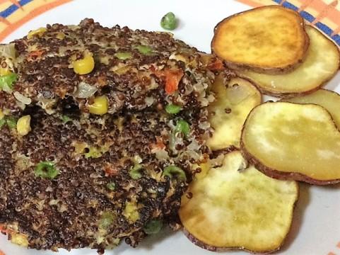 Hamburguesas de quinoa 1