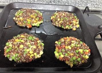 Hamburguesas de quinoa 2